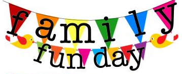 » family fun day clipart